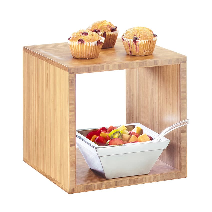 """Cal-Mil 1929-12-60 Library Cube - 12"""", Bamboo"""