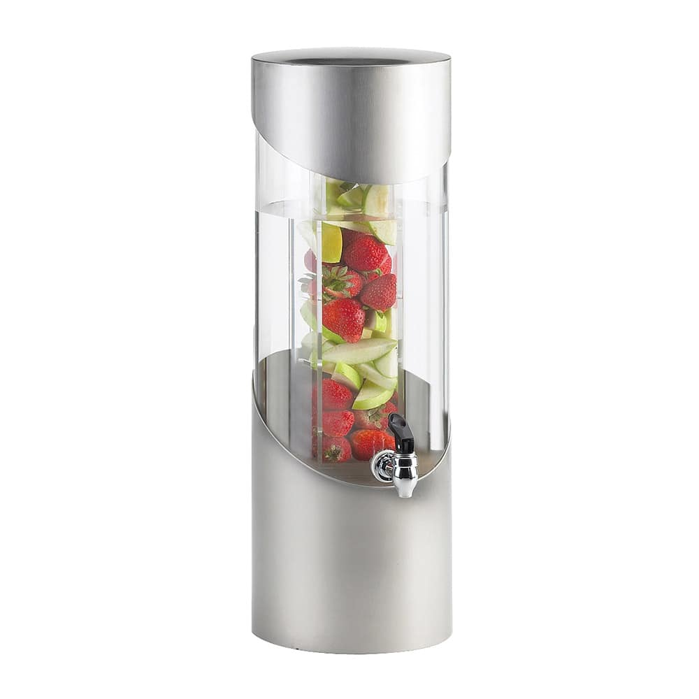 Cal-Mil 1990-3INF-55 3 gal Beverage Dispenser - Drip Tray, Acrylic, Stainless Steel
