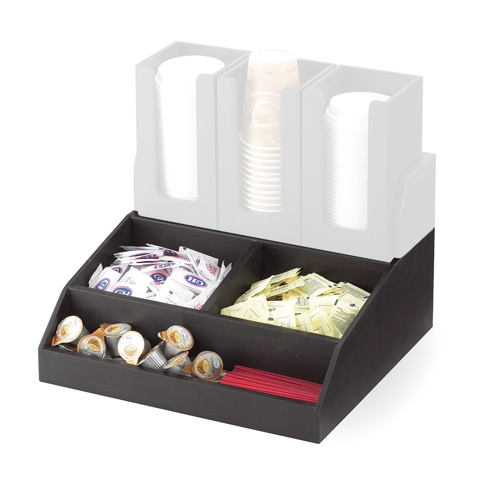 Cal-Mil 2019-96 Multi-Bin Condiment Station - Midnight