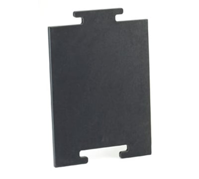 "Cal-Mil 2035-212-13 12"" Bread Board - Middle, Black"