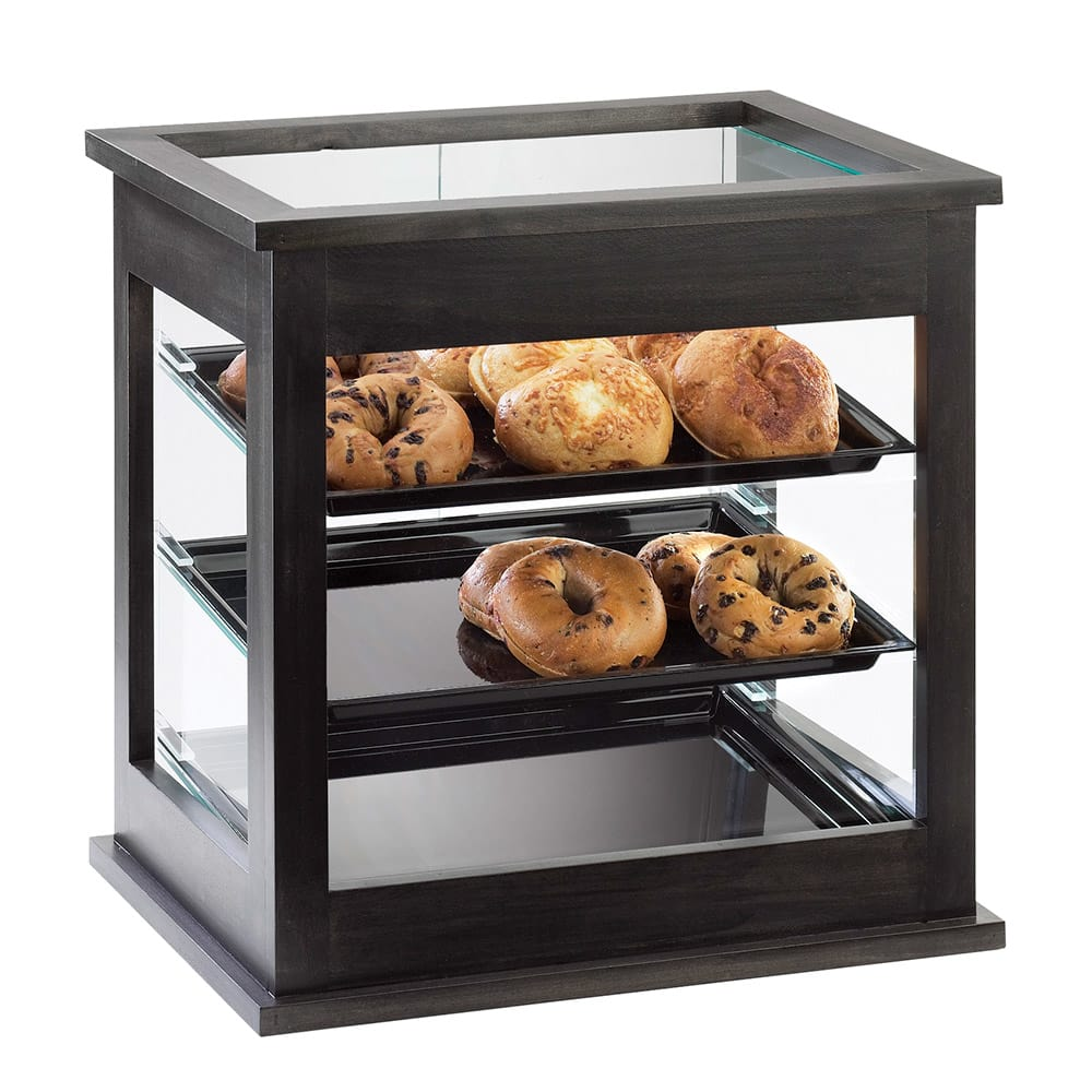 "Cal-Mil 284-96 Frame Display Case - 21 x16 1/4x22 1/2"", Midnight"