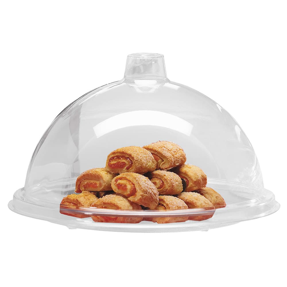 "Cal-Mil 311-15 15"" Dome Type Gourmet Cover, Clear Acrylic"