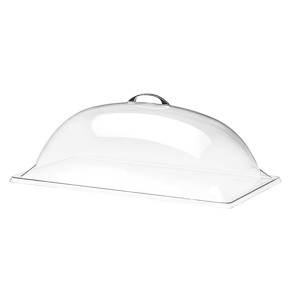 """Cal-Mil 321-18 Dome Type Display Cover, 18 x 26 x 8"""" High, Polycarbonate"""