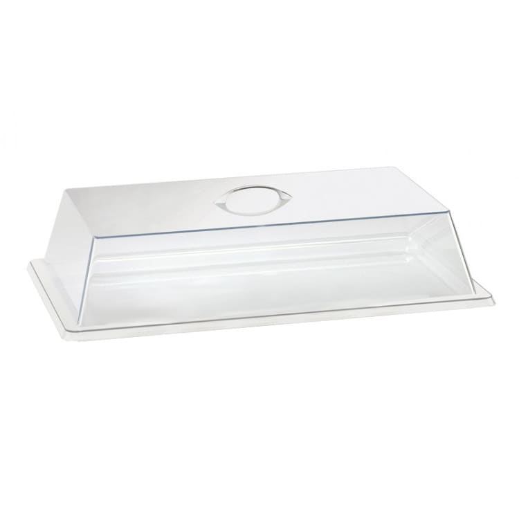 "Cal-Mil 327-12 Cover for Display Trays - 20""W x 12""D x 4""H, Plastic, Clear"