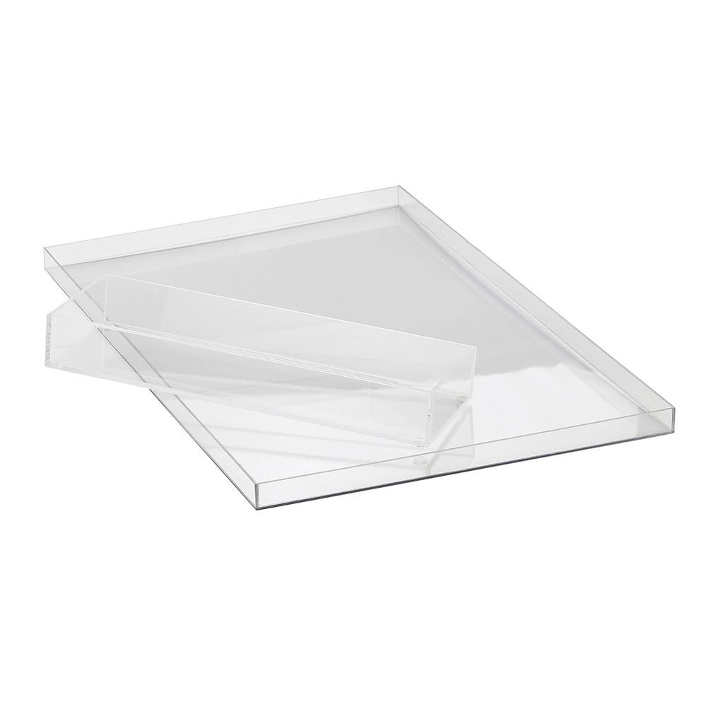Cal-Mil 3316 Condensation Tray Liner for 1399-55 - Acrylic, Clear