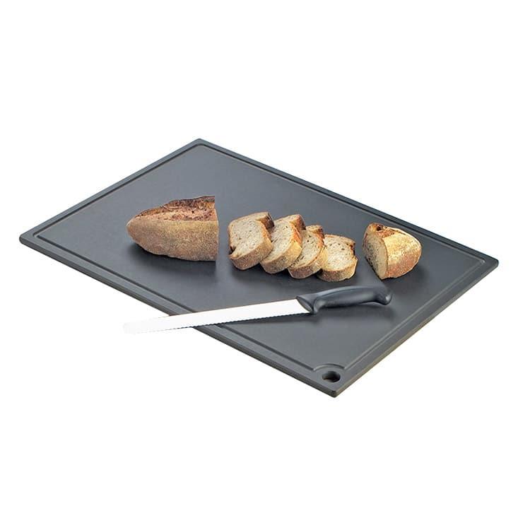 """Cal-Mil 3337-1218-13 Cutting Board - 12x18"""", Composite, Black"""