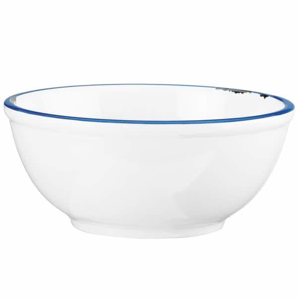 """Cal-Mil 10/15/3343 10.75"""" Round Bowl - Melamine, White"""