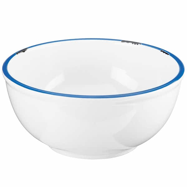 """Cal-Mil 8/15/3343 8.13"""" Round Bowl - Melamine, White"""