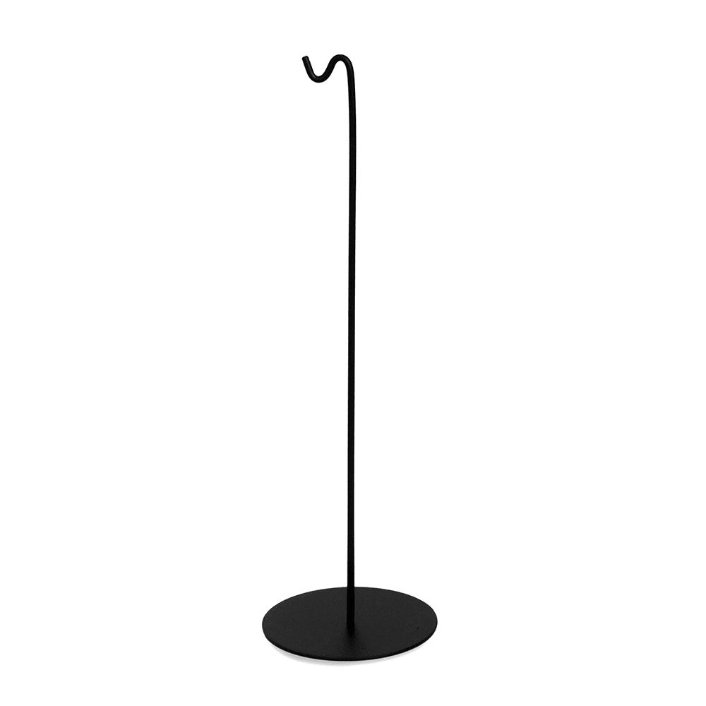 "Cal-Mil 10/13/3346 10"" Tabletop Menu Sign Holder - Wire, Black"