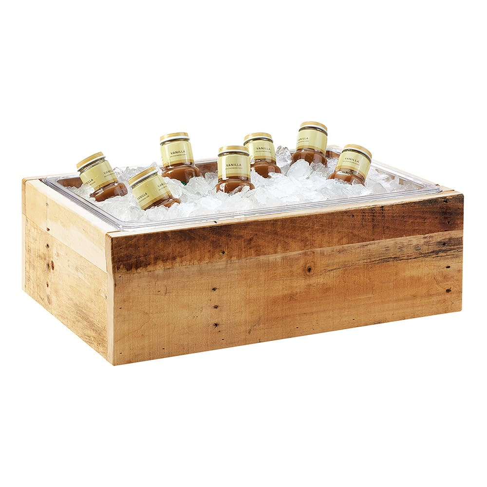 "Cal-Mil 3360-10 Ice Housing - 13"" x 11"" x 6.5"", Wood"
