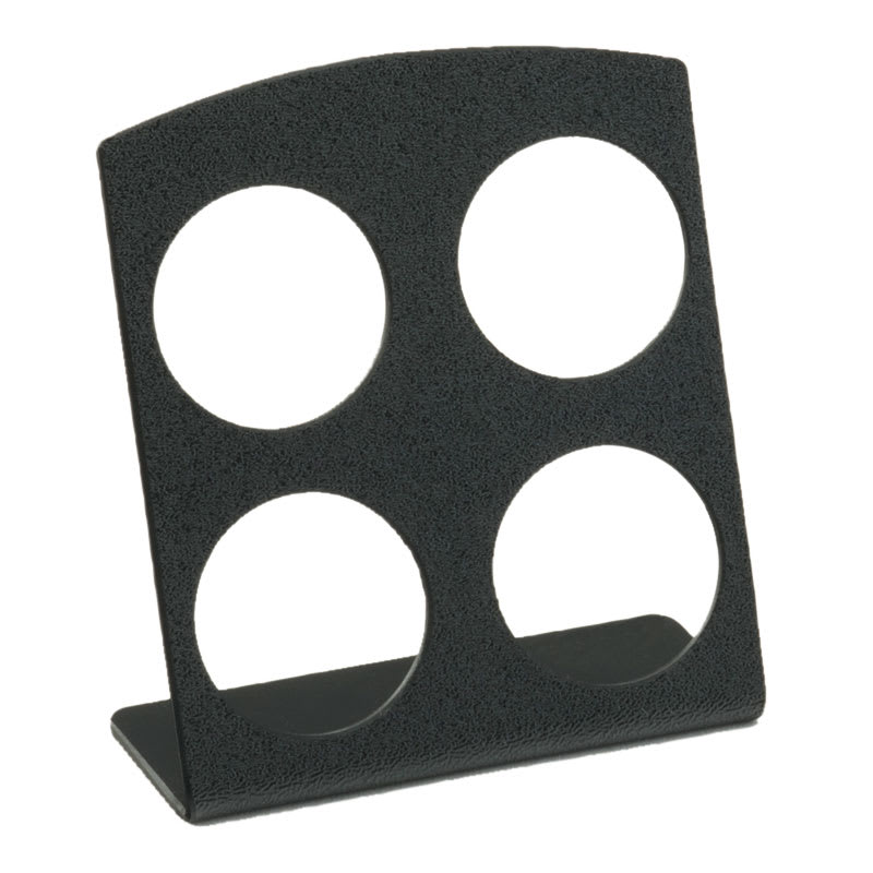 Cal-Mil 4/13/3485 4 Section K-Cup® Holder - Plastic, Black