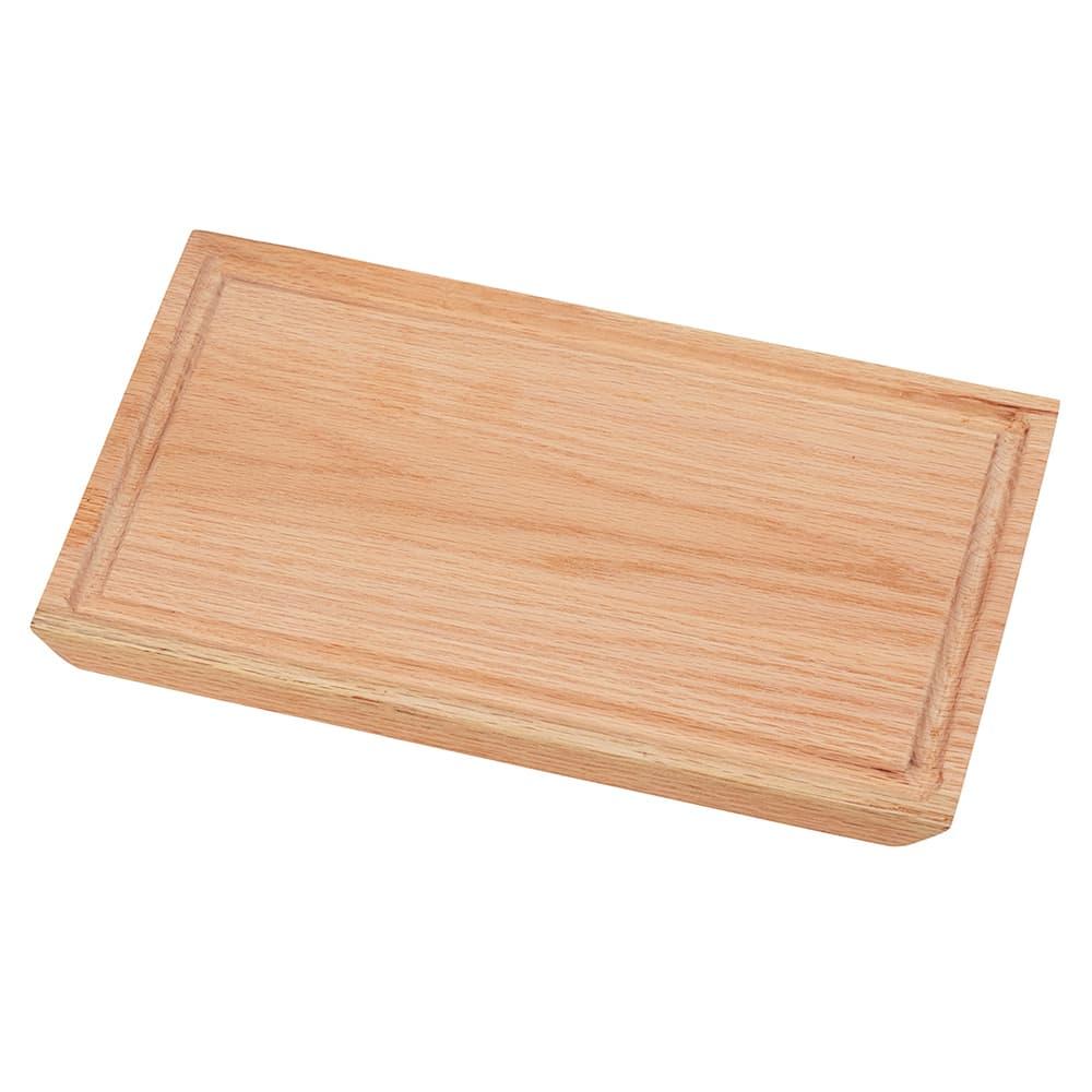 "Cal-Mil 3496-712-21 Rectangular Serving Board - 12"" x 7"", Wood, Oak"