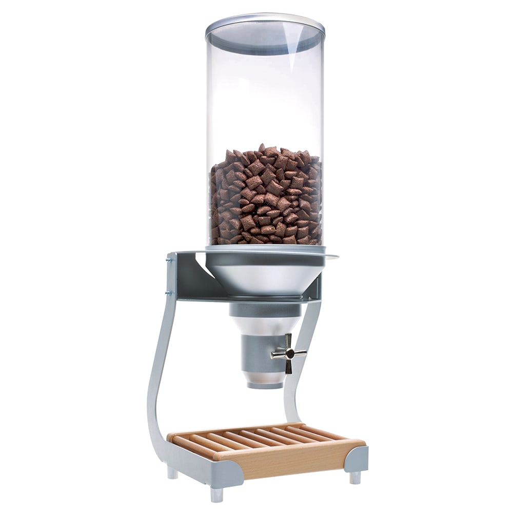 Cal-Mil 3513-1-98 Countertop Cereal Dispenser w/ (1) 13.5 liter Container - Metal/Wood Stand