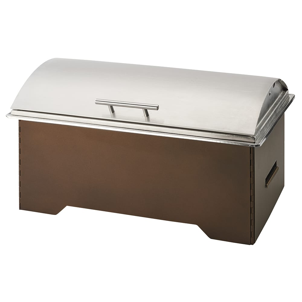 Cal-Mil 3644-84 Full Size Chafing Dish w/ Hinged Lid & Chafing Fuel Heat
