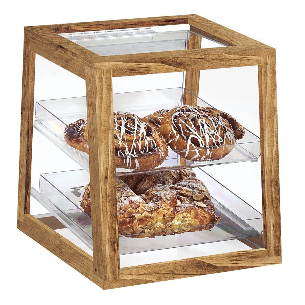 Wood cookie boxes Rustic wood display box Dessert Bar Box