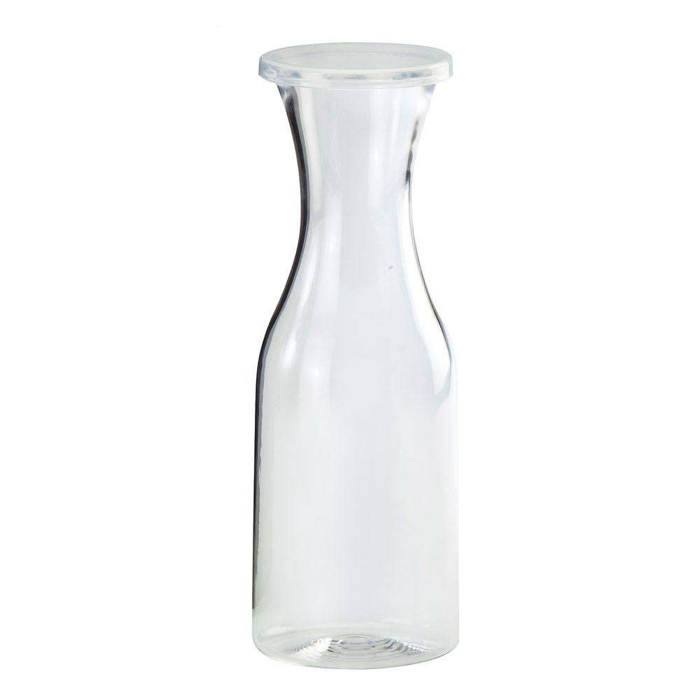 Cal-Mil 438 1 Liter Carafe w/ Lid, Clear Polycarbonate