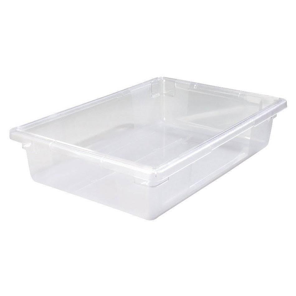 "Cal-Mil 477-12CL Ice Housing Pan - 20""W x 12""D x 6""H, Plastic, Clear"
