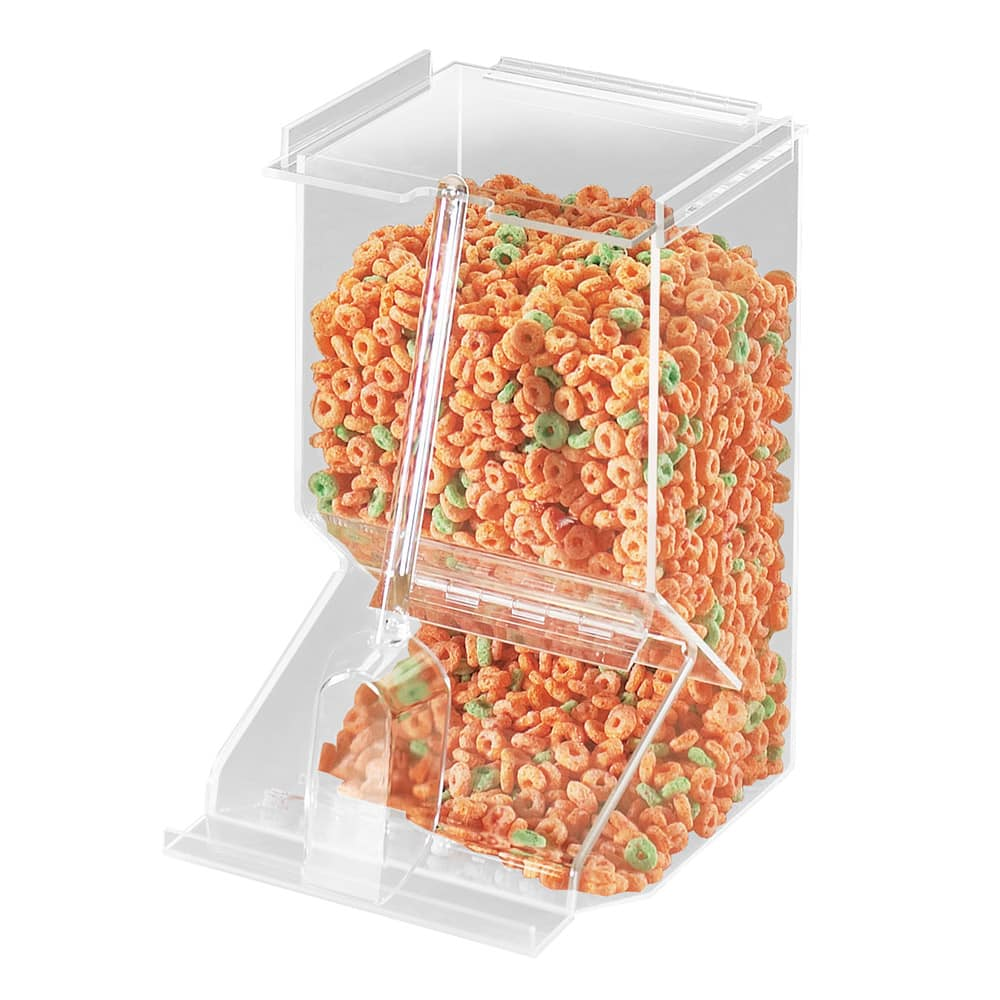 Cal-Mil 656 Stackable Acrylic Bulk Cereal Dispenser w/ 450 cu in Capacity, Clear