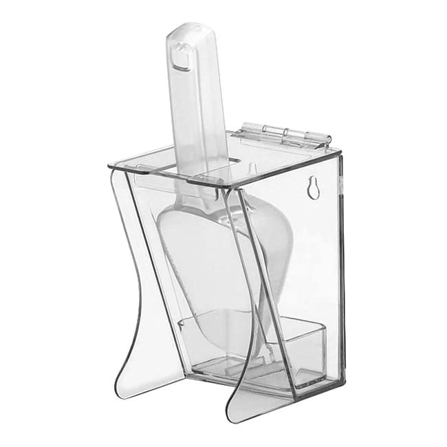 Cal-Mil 789 Freestanding Scoop Holder w/ 6 oz Scoop & Drip Tray