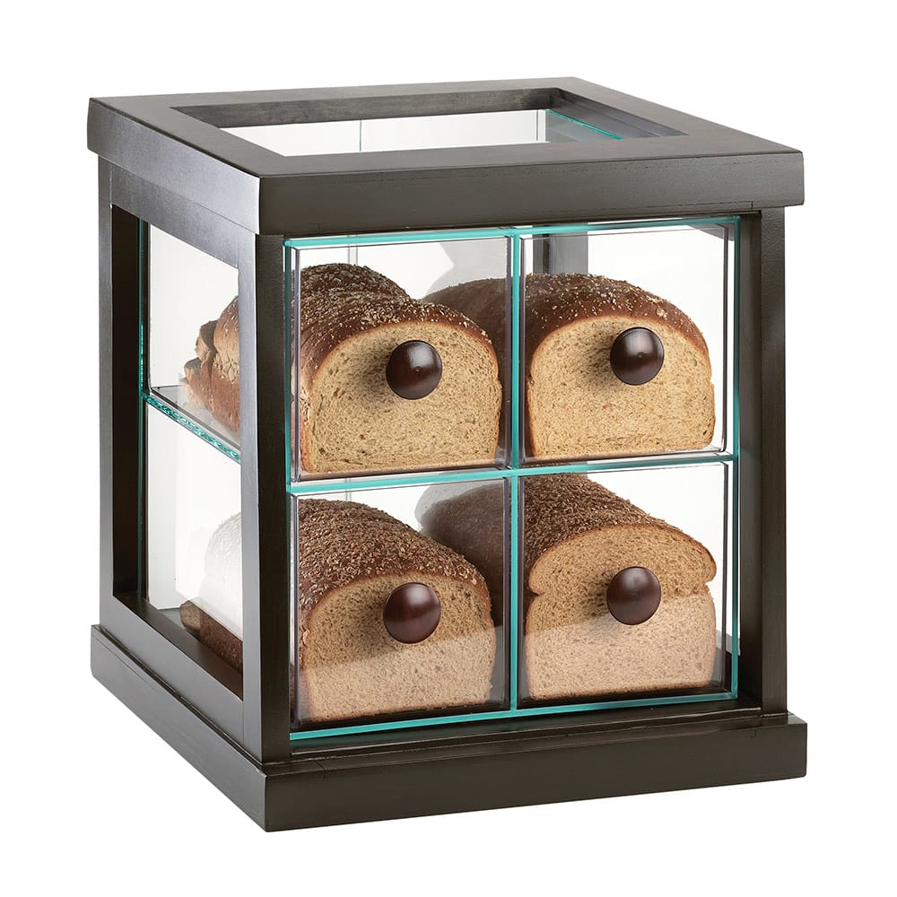 Cal-Mil 813-96 4 Drawer Bread Case - Midnight