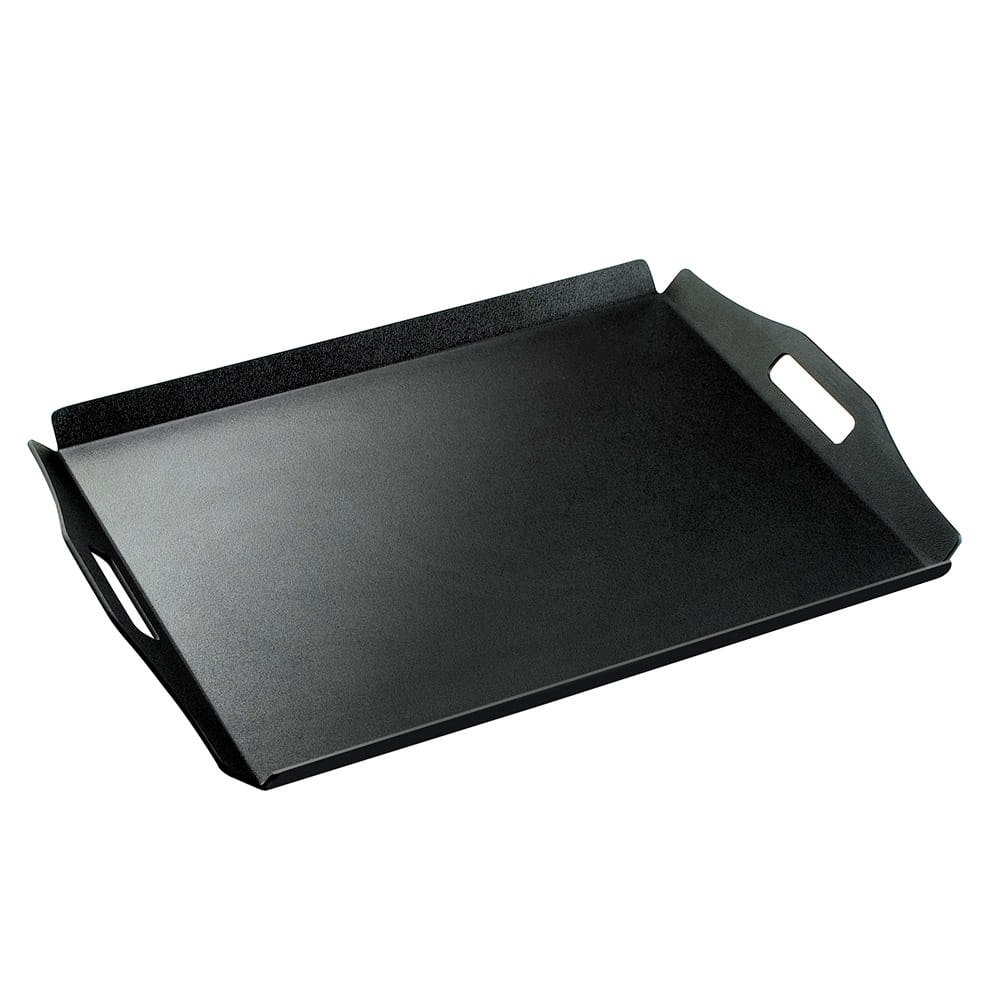 "Cal-Mil 930-3-13 Low Profile Room Service Tray, 18 x 26"", Black"