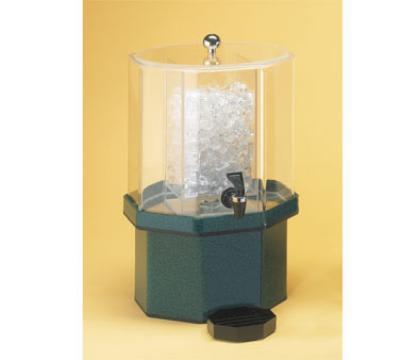 Cal-Mil 972-1-24 Pacific Beverage Dispenser, Octagon, 1-1/2 Gallon, Ice Chamber, Spigot