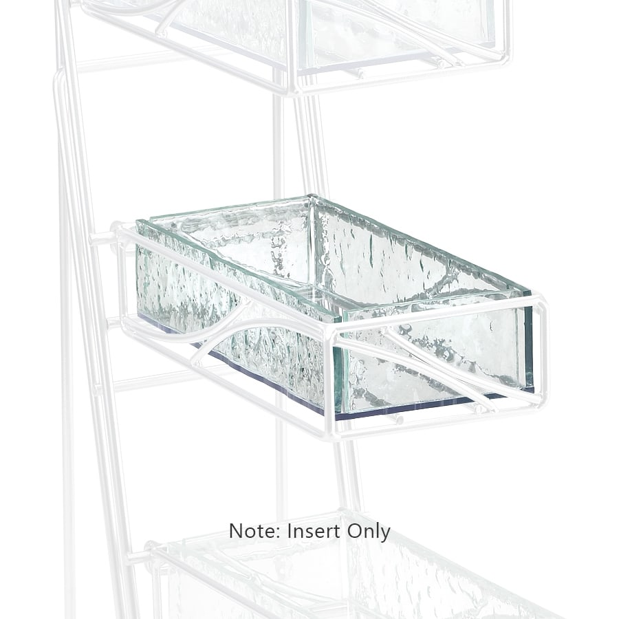 Cal-Mil C1235INSERT Insert Tray for 1235 Display Stand, Faux Glass