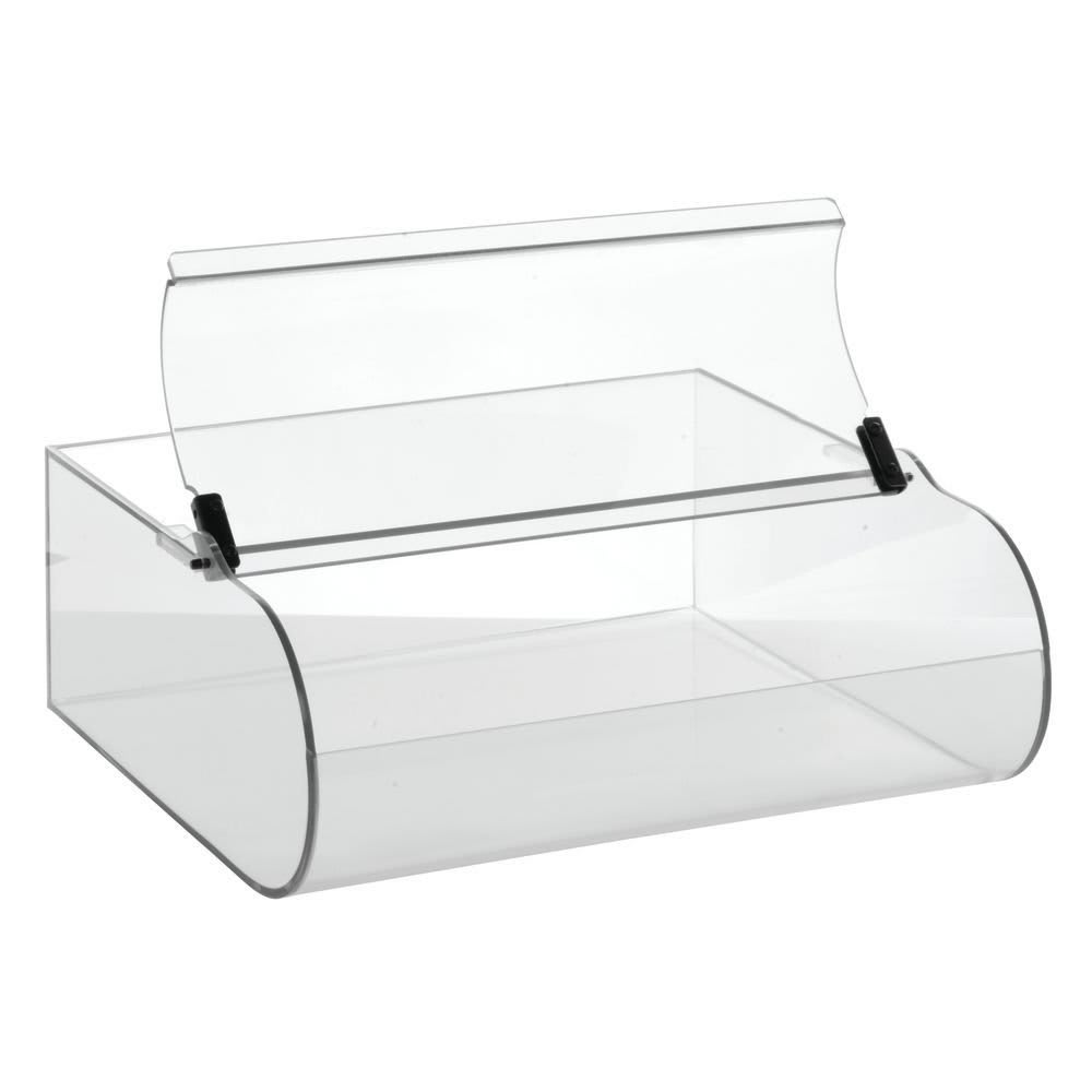 Cal-Mil C1281B Bin for 1281 2 Pastry Display Case - Acrylic, Clear