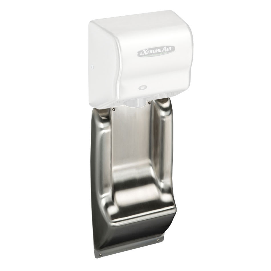 American Dryer ADA-WG Wall Guard for American Dryers - ADA Compliant, Stainless