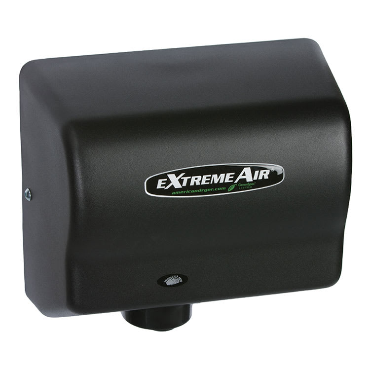 American Dryer GXT9BG Hand Dryer - Auto Sensor, 10 12 Dry Time, Black Graphite