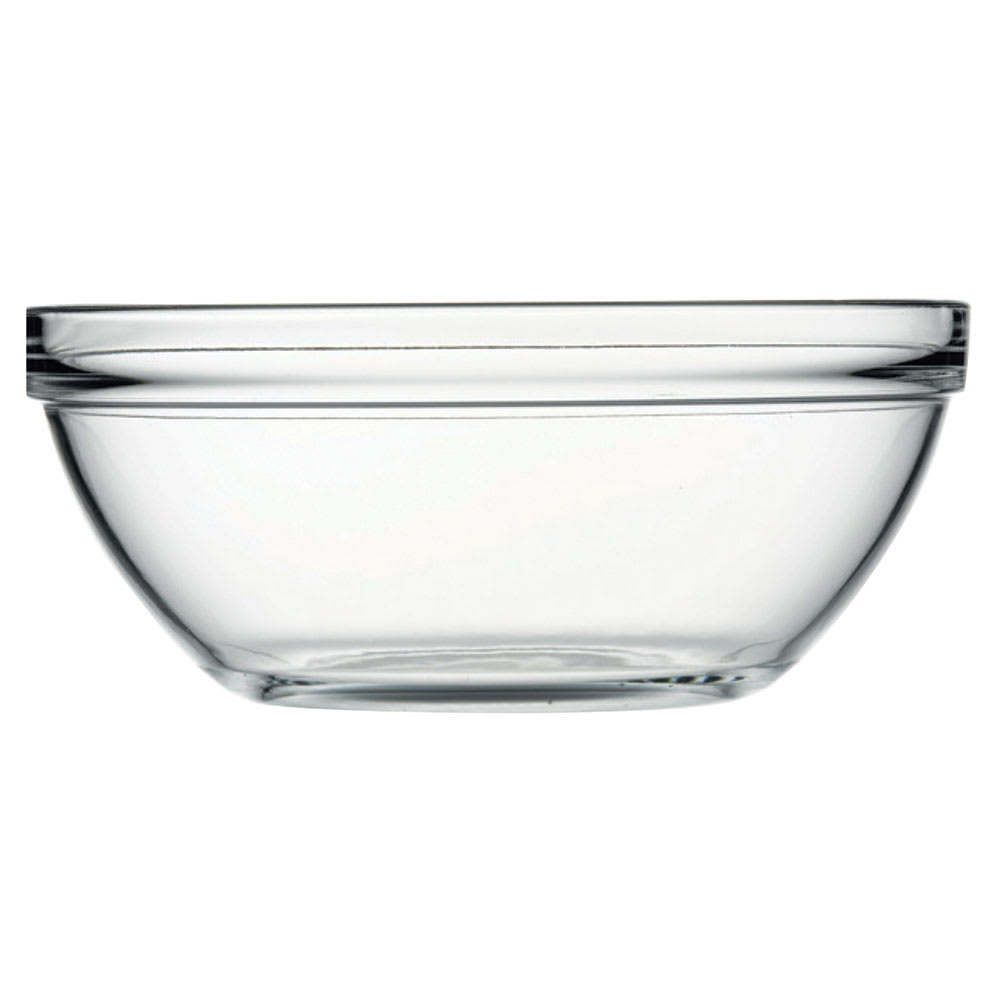 Browne 1034262 183.25 oz Pasabahce Chef Bowl - Glass, Clear