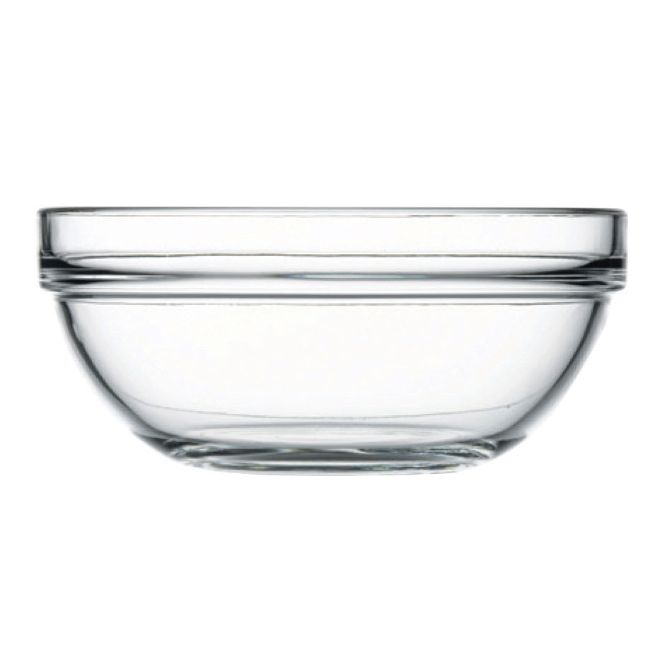 Browne 114936 36.75-oz Pasabahce Chef Bowl - Glass, Clear