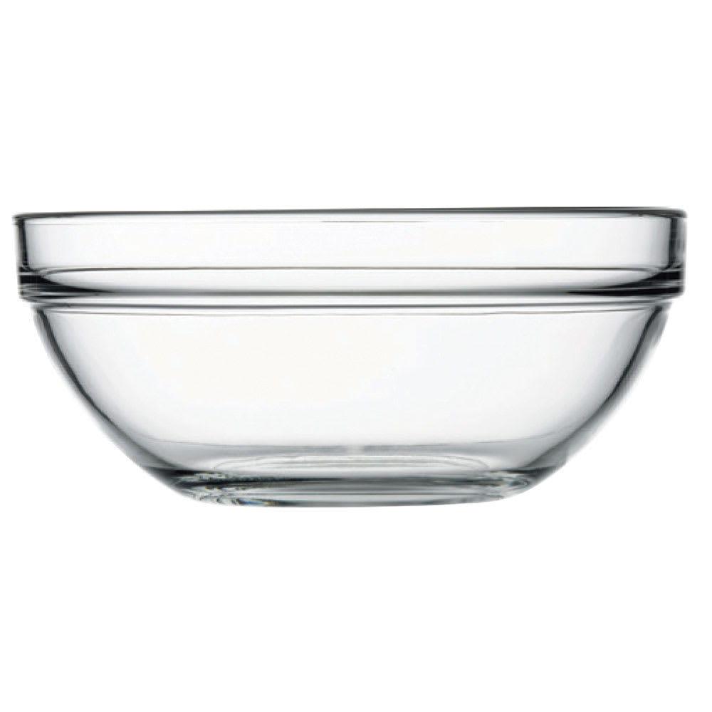 Browne 114992 56.75-oz Pasabahce Chef Bowl - Glass, Clear