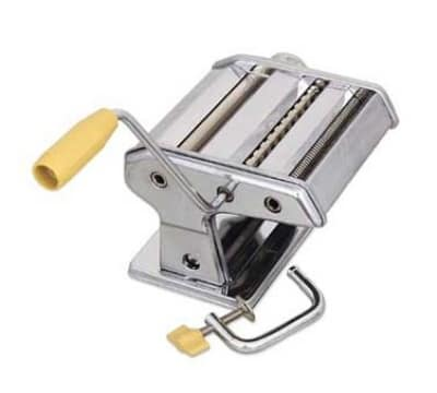 Browne 12151 Table Mounted Pasta Machine, Noodle Cutter, Stainless Steel