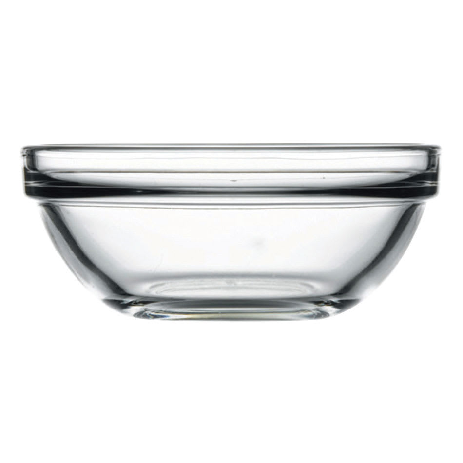 Browne 121929 7-oz Pasabahce Chef Bowl - Glass, Clear