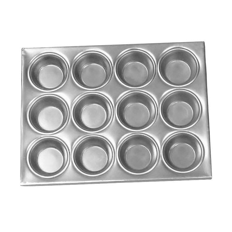 Browne 5811612 12-cup Muffin/Cupcake Pan, Aluminum