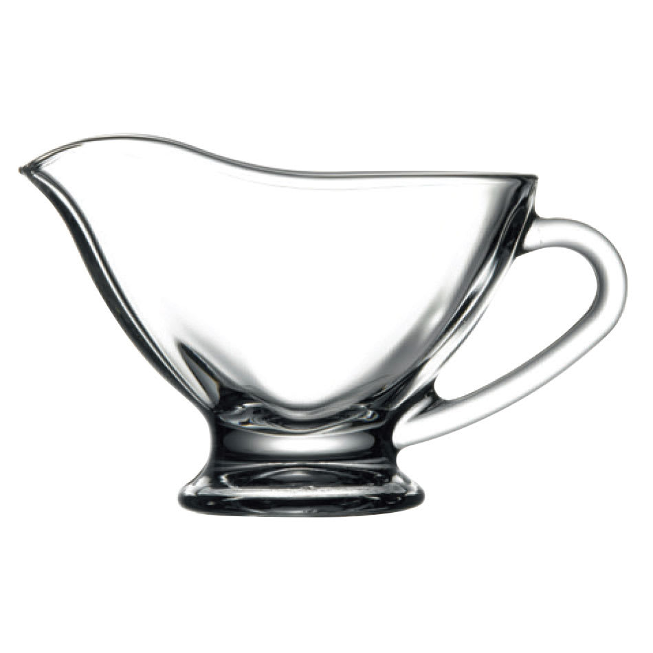Browne 171169 6.5-oz Pasabahce Sauce Boat - Glass, Clear