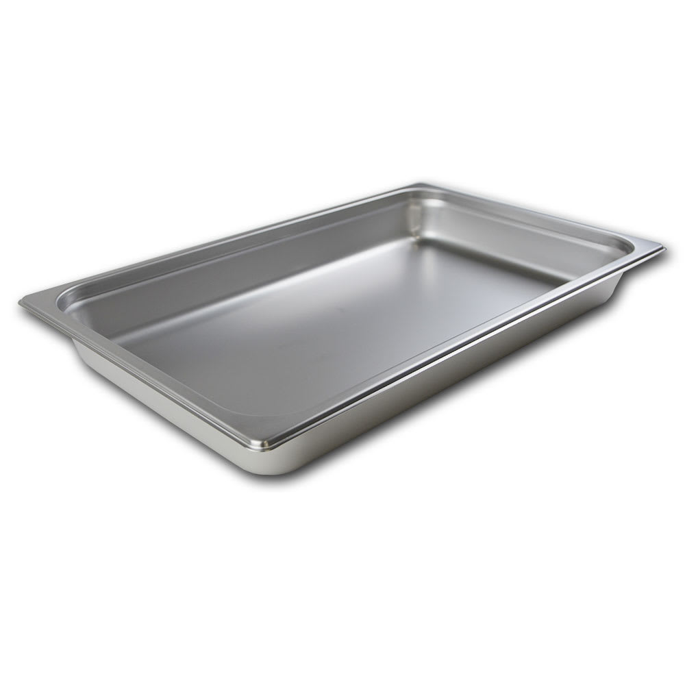 Browne 22002 Full-Sized Steam Pan, Stainless