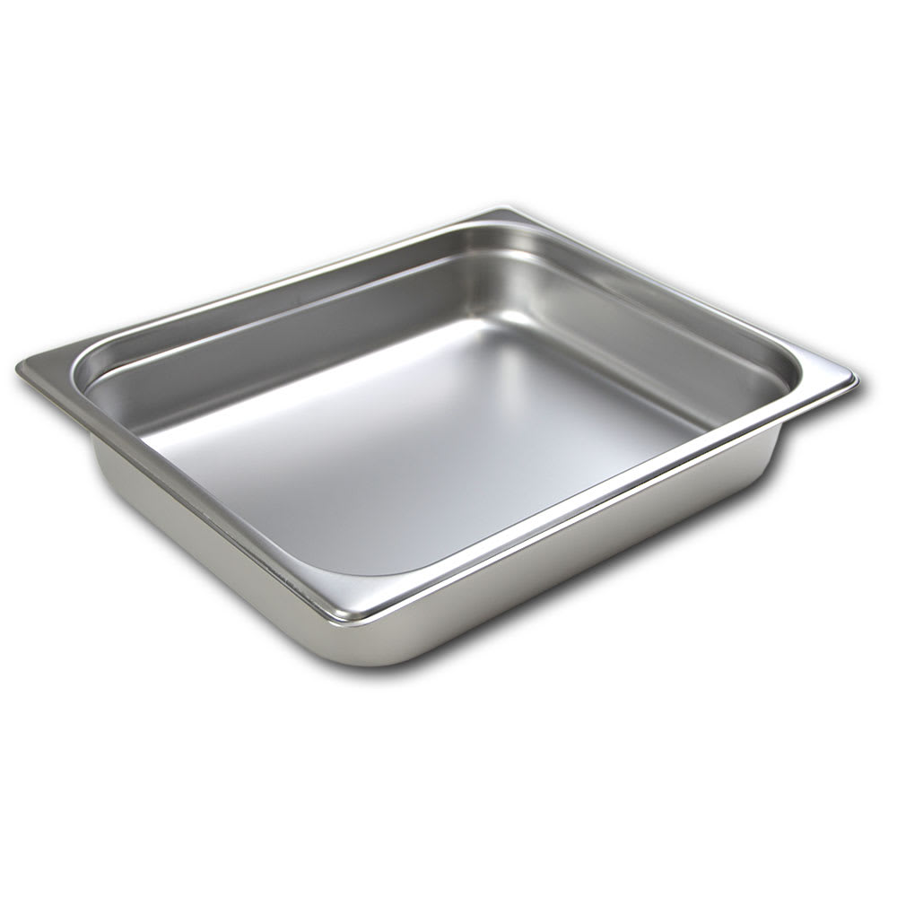 Browne 22122 Half-Sized Steam Pan, Stainless