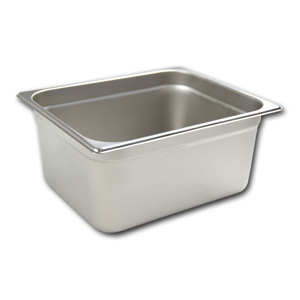Browne 22126 Half-Sized Steam Pan, Stainless