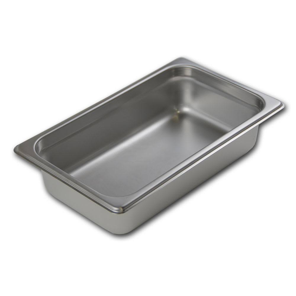Browne 22142 Fourth-Size Steam Pan Cover, Stainless