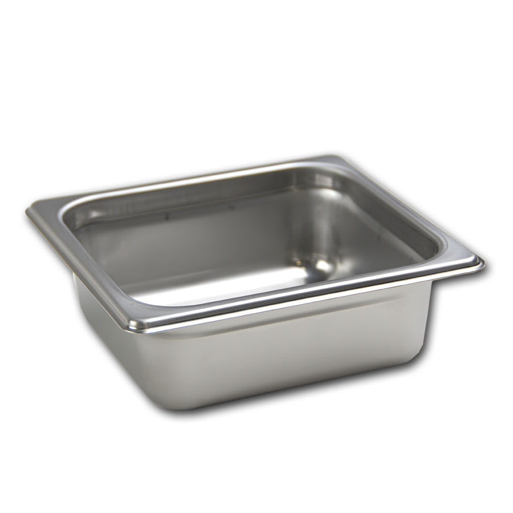 Browne 22162 Sixth-Size Steam Pan, Stainless