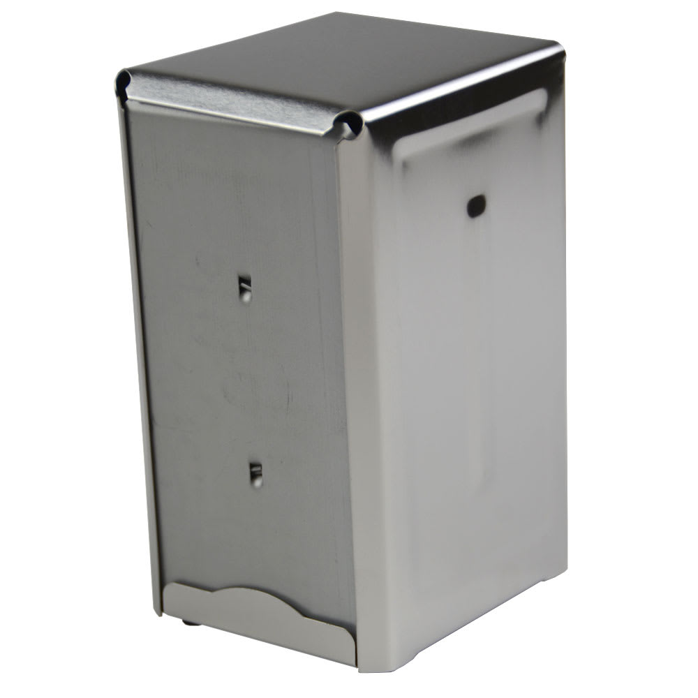 "Browne 57221 Napkin Dispenser, Counter Type, Holds 150 3-1/2 x 7"" Napkins"