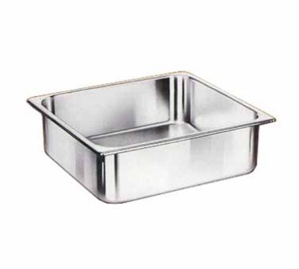 Browne 22234 Two-Third Size Steam Pan, Stainless