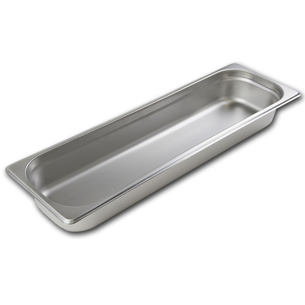 Browne 22242 Half-Sized Steam Pan, Stainless