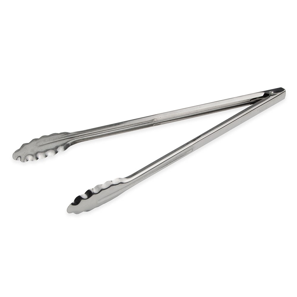 "Browne 57529 16""L Stainless Utility Tongs"