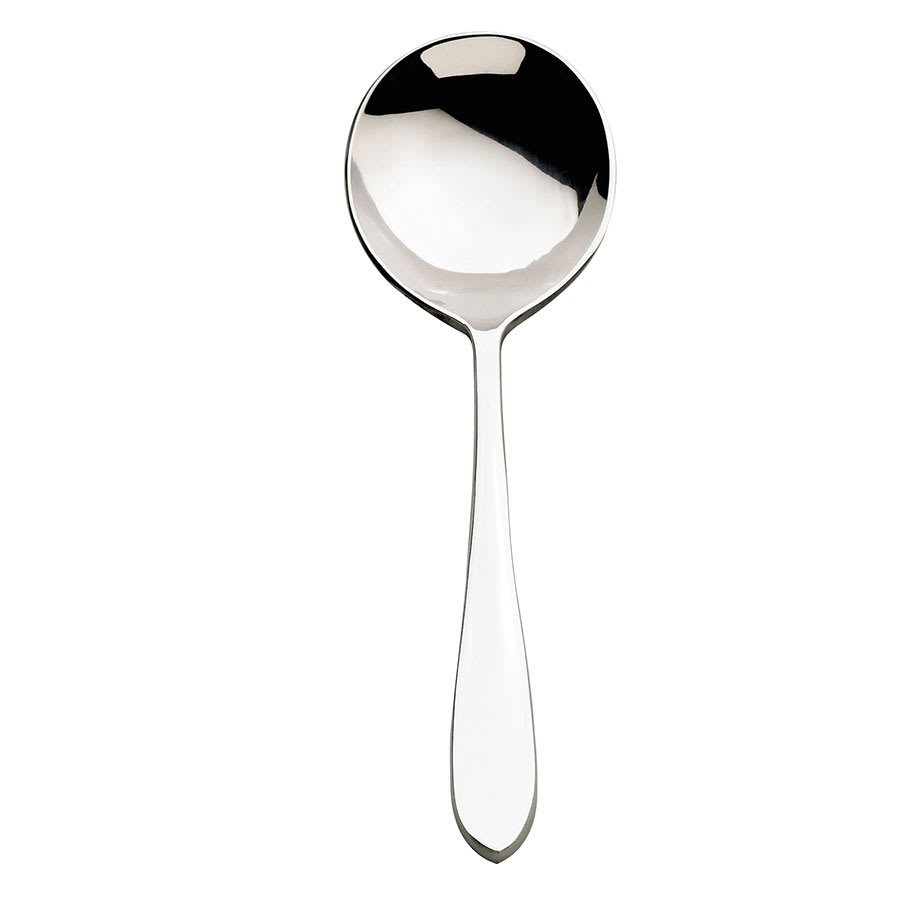 Browne 502113 Eclipse Round Soup Spoon, 18/0 Stainless Steel