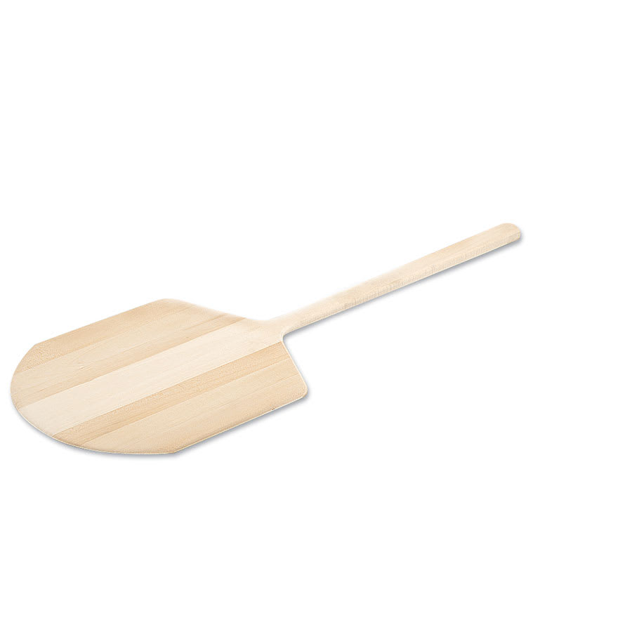 """Browne 5116 Wooden Pizza Peel, 12 x 14 in, 22"""" Over All Length"""