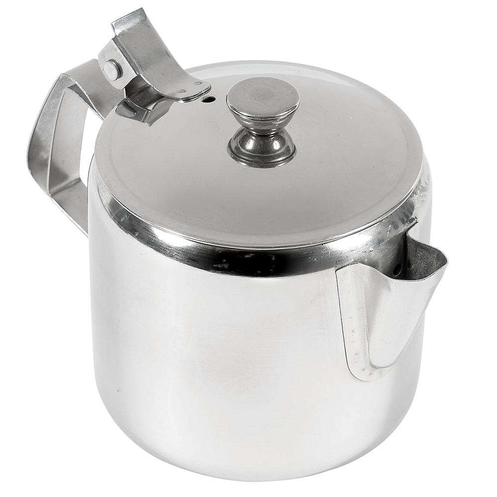 Browne 515000 Economy Teapot,  12 oz, Stainless Steel