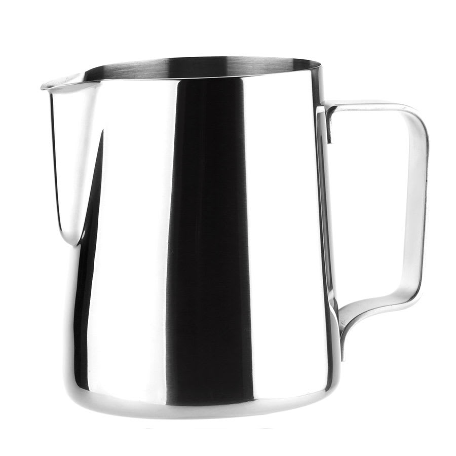 Browne 515007 Contemporary Milk Pot, 12 oz, 18/8 Stainless Steel